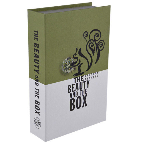opbergboek The beauty and the box groen