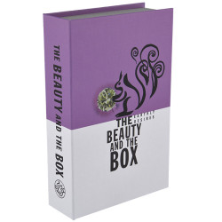 opbergboek The beauty and the box roze