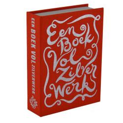 spaarboekje Een boek vol zilverwerk oranje