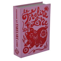 spaarboekje Tirelirelivre roze