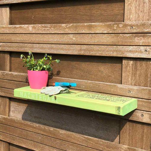 tuinplank Birdy groen gebeitst