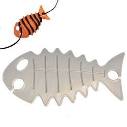 cable fish zilver