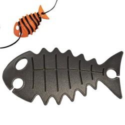 snoeren opbergen met de cable fish zwart