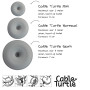 cable turtles 3 maten