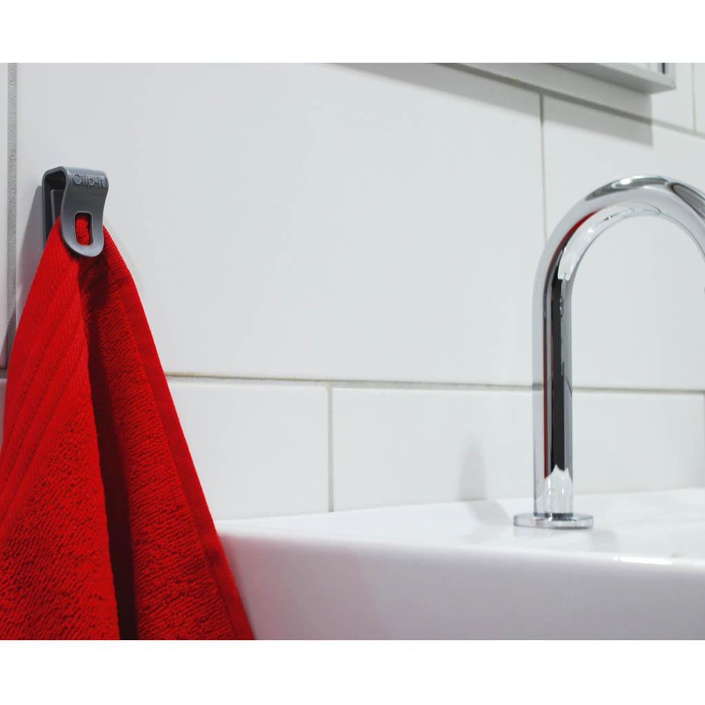 handdoek clip Clipit  multifunctionele clip  Handig Cadeau # Wasbak Handdoek_055134