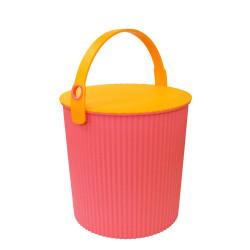 opbergemmer roze / oranje omnioutil medium