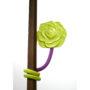 spiegel groen/ paars bloem Grace regina