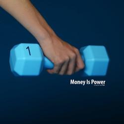 spaarpot blauw money is power
