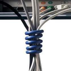 cable manager blauw pc