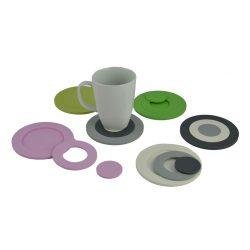 mix-it set roze, groen, grijs, wit