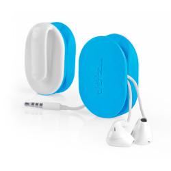 flex earbud wrap blauw oordopjes