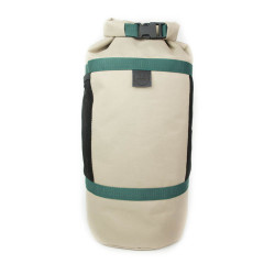2 in 1 tas sportiva bag khaki staand1