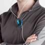 wrap id earbud wrap neon blauw impressie