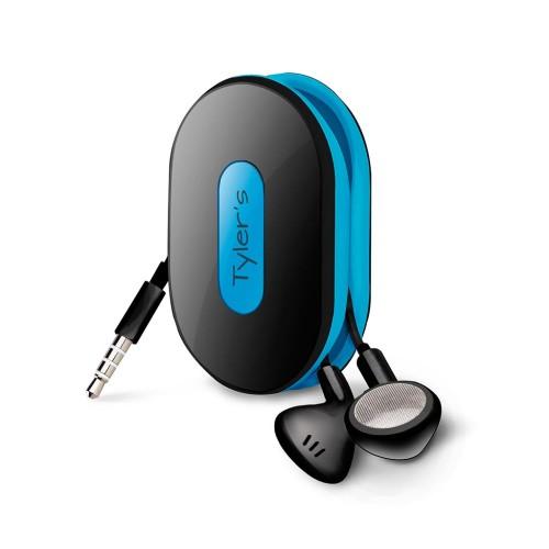 Dotz wrap id earbud wrap neon blauw oordopjes