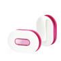 wrap id earbud wrap roze voor en achterkant