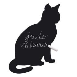 krijtbordsticker kat zittend cocoboheme