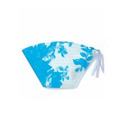 portemonnee pochette bateau sur l'eau blauw
