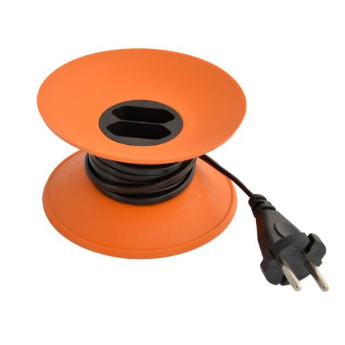 snoeren verlengen met CableDisk oranje
