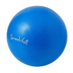opblaasbare en opvouwbare bal Scrunch blauw 40 cm