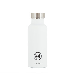 Thermo bottle van 24Bottles wit