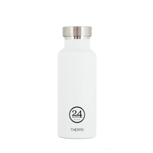 Thermo bottle van 24Bottles wit