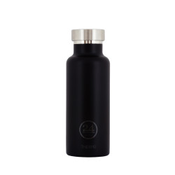 Thermo bottle 24Bottles zwart