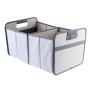 Meori opvouwbare box grey XL opgezet