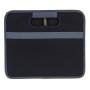 Meori opvouwbare box lava zwart XL voorkant