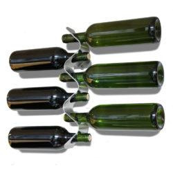 wijnrek Flow voor 6 flessen van black+blum