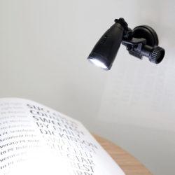 leeslampje LED mini met zuignap