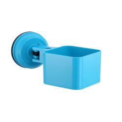 multifunctioneel bakje blauw met zuignap