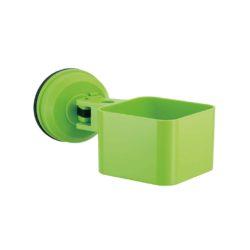 multifunctioneel bakje met zuignap lime groen