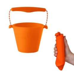 opvouwbare emmer scrunch bucket oranje