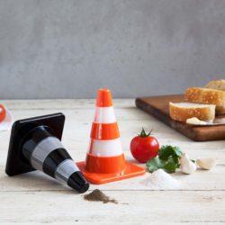 peper en zout stel - verkeerskegels