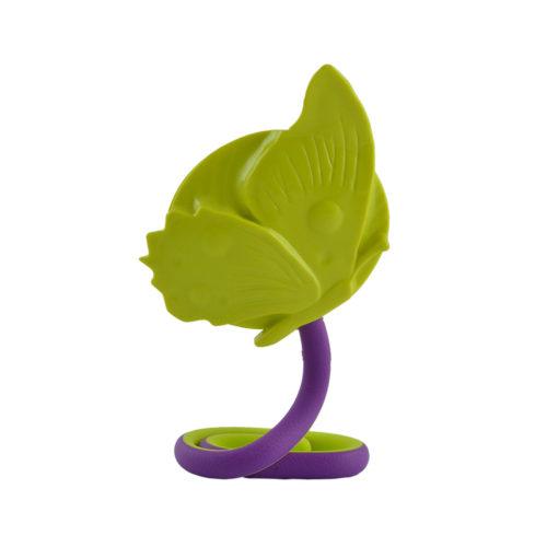 handspiegel Regina vlinder groen / paars
