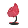 spiegeltje vlinder flexibele voet roze/ zwart