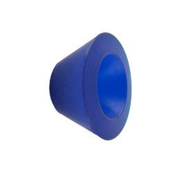 wandhaak / kapstok Gantel blauw