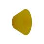wandhaak / kapstok Gantel geel