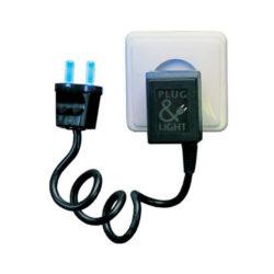 lampje plug&light blauw van Paul Baars