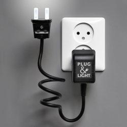 lampje plug&light wit van Paul Baars