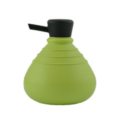 zeeppompje Soapbelly groen met zwarte dop
