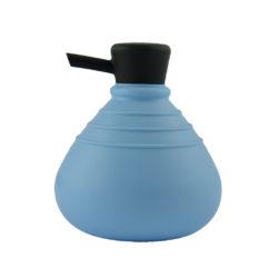 zeeppompje soapbelly licht blauw zwarte dop