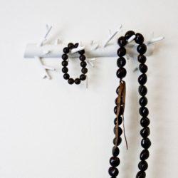 Bosign Branch hanger wandhaak wit groot