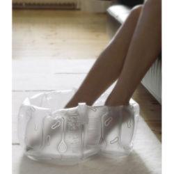 Bosign opblaasbaar voetenbad wit