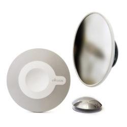 Bosign makeup spiegel magnetisch grijs