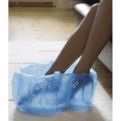 Bosign opblaasbaar voetenbad blauw