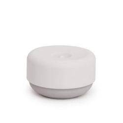 Bosign zeepdispenser grijs / wit deksel