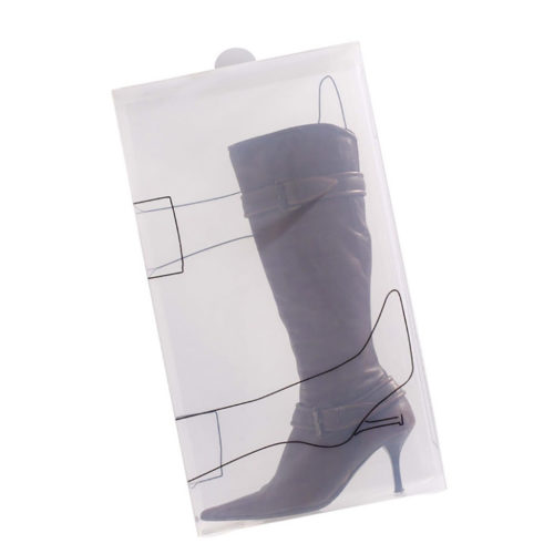 Bosign transparante schoenendoos voor laarzen | set van 2 stuks