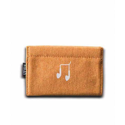Pocket, etui voor oordopjes oranje