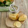 HappyTappi deksel met groenten/ aardappel schiller impressie